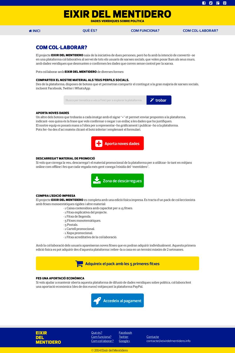 Web: Col·laborar