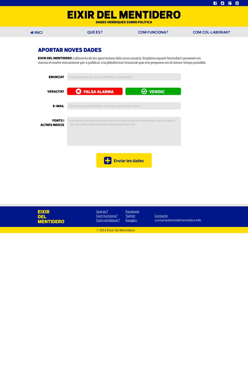 Web: Aportacions